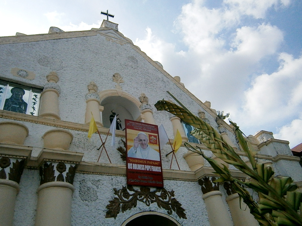 Palm Sunday mass in Laoag, Ilocos Norte