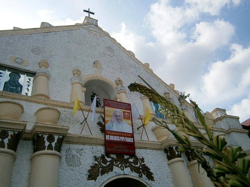 Palm Sunday mass in Laoag, Ilocos Norte