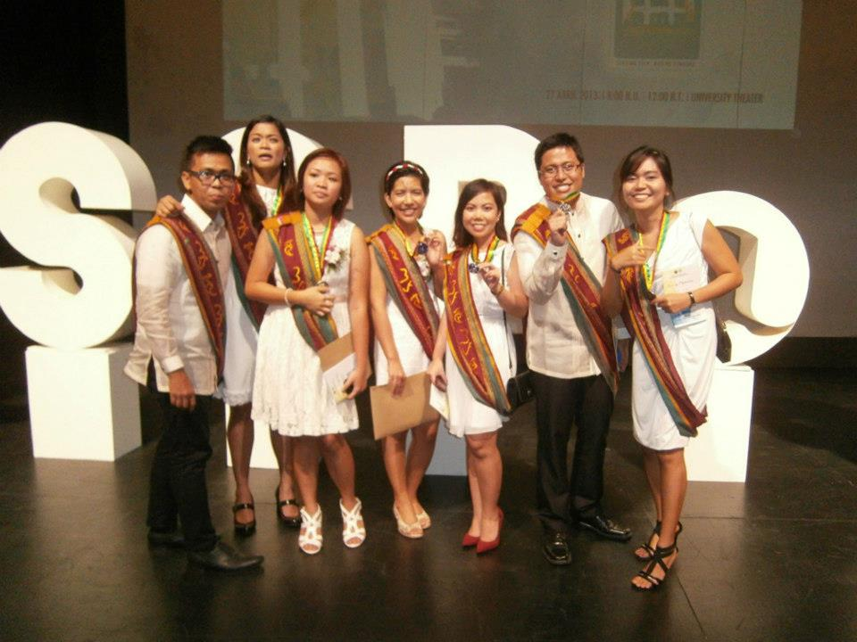 We were the first bunch to have our pictures taken here - CSSP@30 Recognition Rites