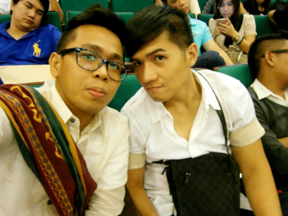 With Mon during my recognition rites - CSSP@30 Recognition Rites