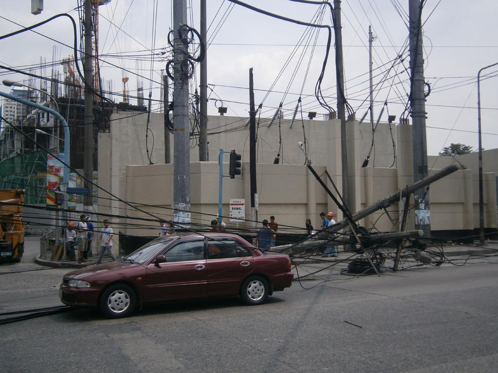 Car accident in P. Tuazon near Ali Mall