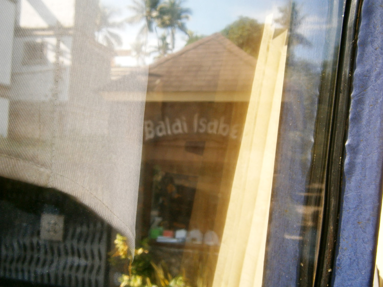 Entrance-slash-gate of Club Balai Isabel