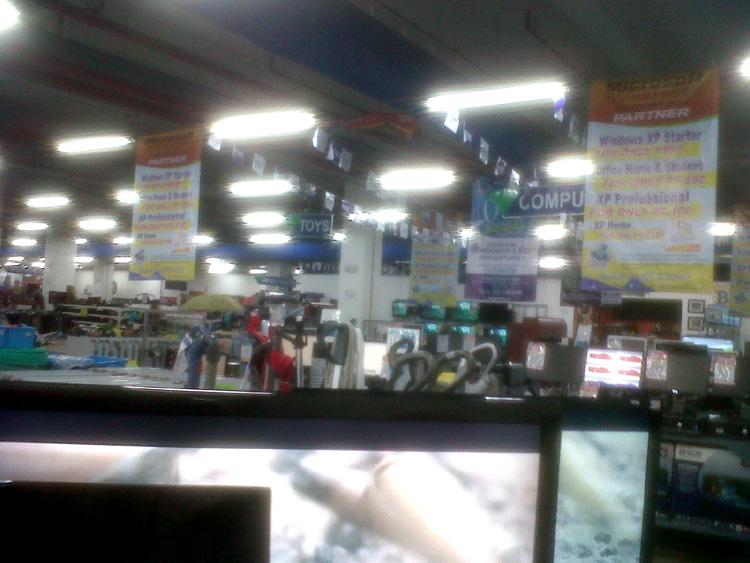 HMR Surplus in Telus, Araneta Center, Cubao