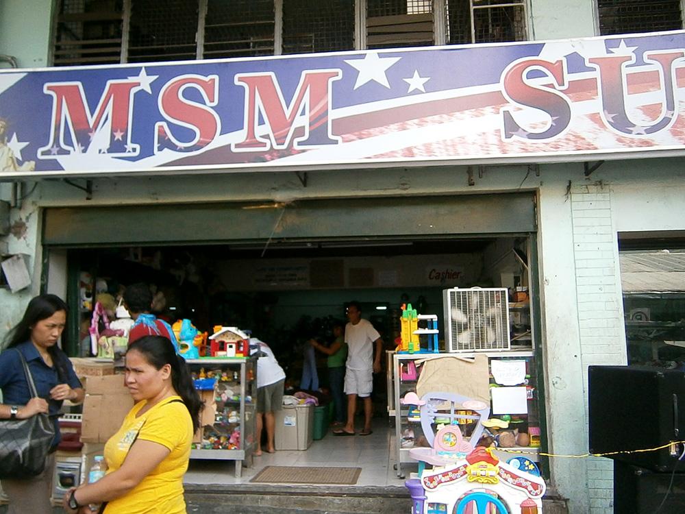 MSM Surplus in Farmers Market, Cubao