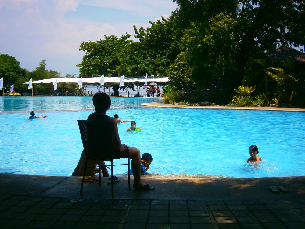 The biggest pool in Club Balai Isabel