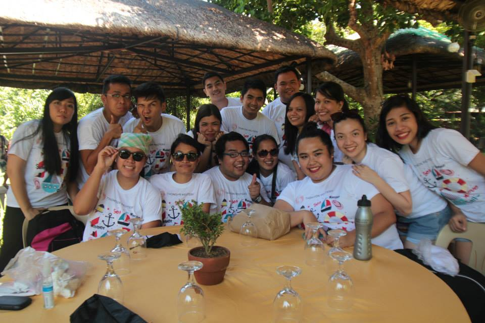 With my officemates!