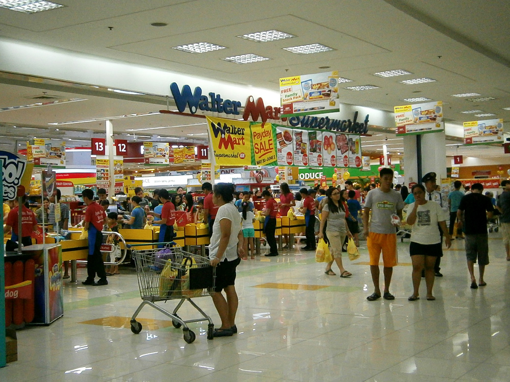WalterMart Supermarket in Makati