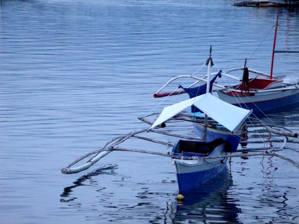 Boats in Puerto Princesa Baywalk