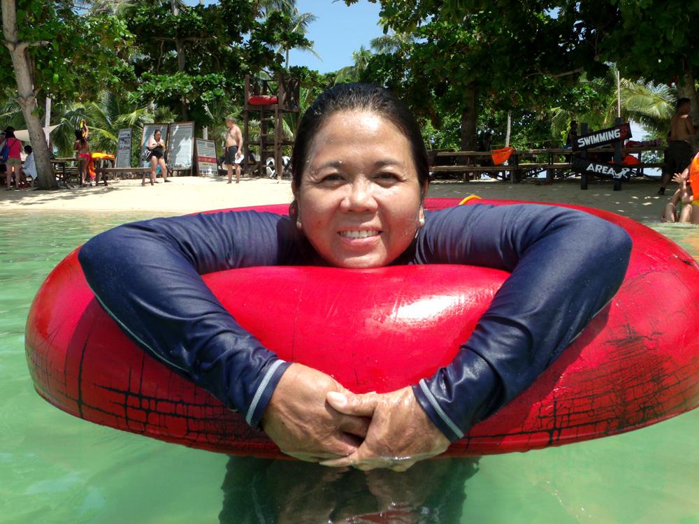 Floating, floating!