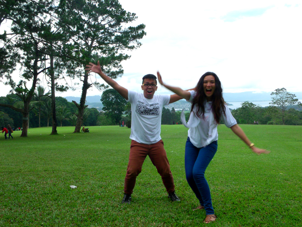 Goofing around in Mindanao State University