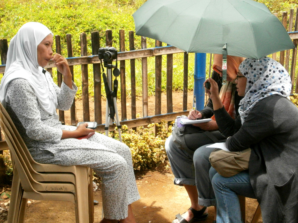 Interview with one of our beneficiaries
