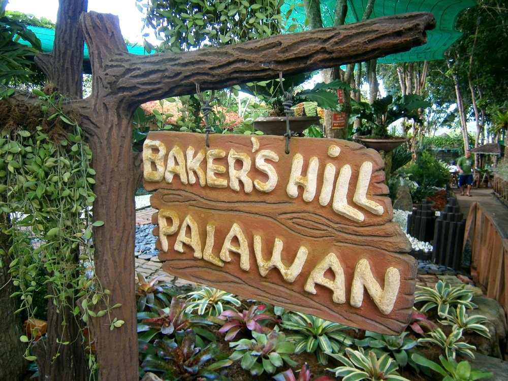 Pretty garden - Baker's Hill