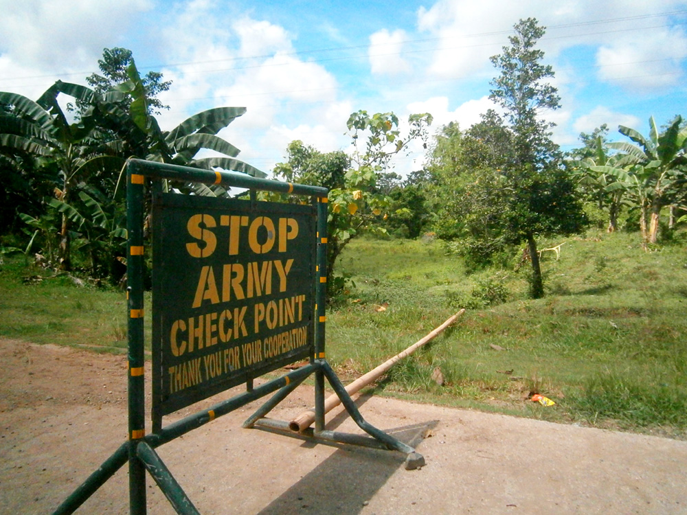 STOP --- Army Checkpoint