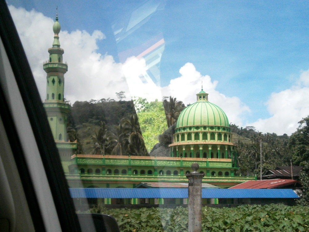 The mosque in Ganassi, Lanao del Sur