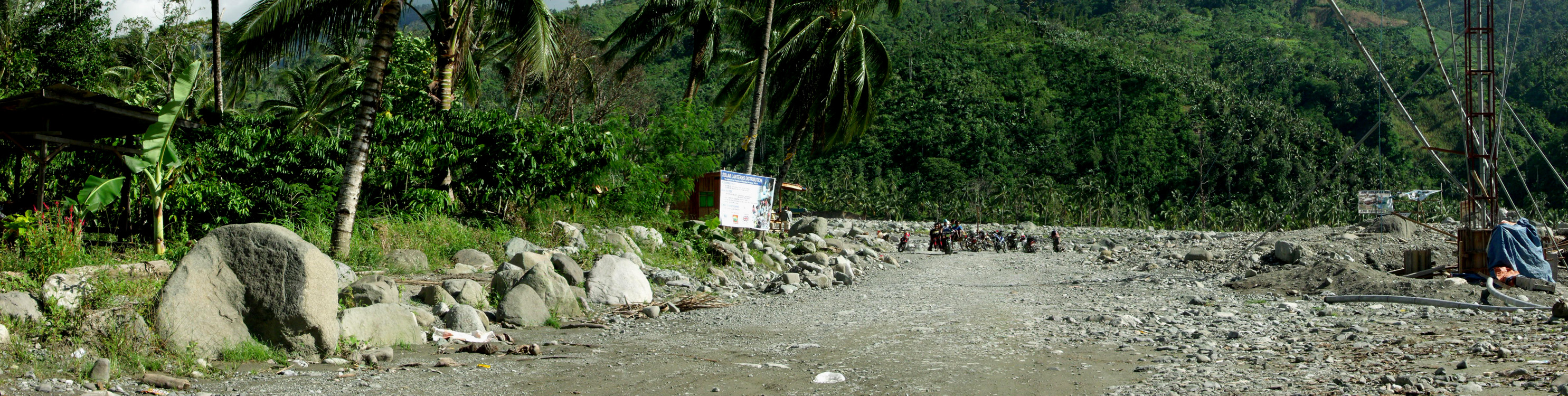 This area used to be a subdivision in Andap, New Bataan