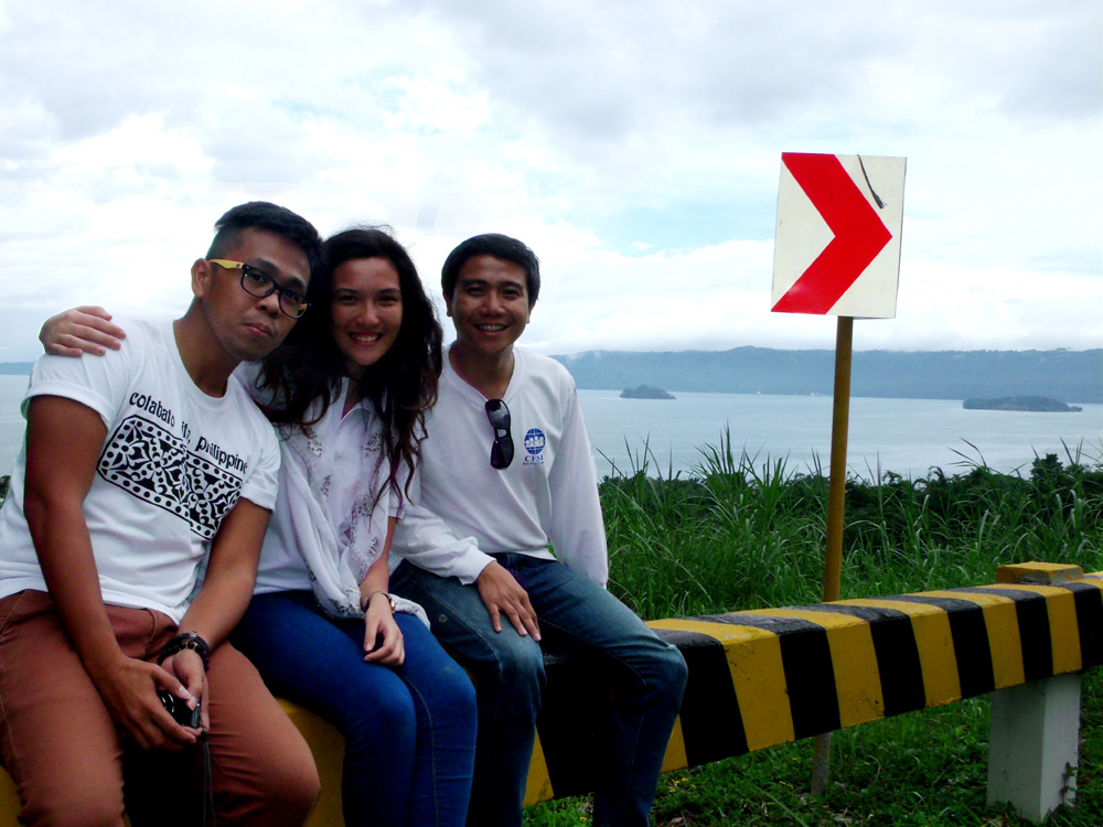 With Marianne and Joseph