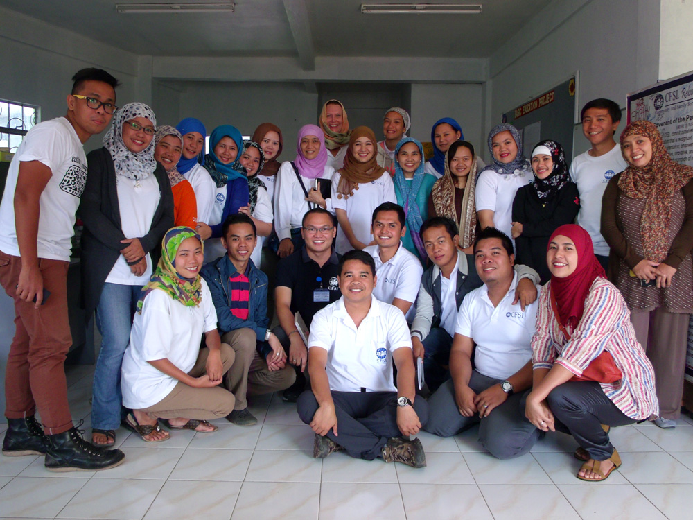 With our colleagues in Marawi City