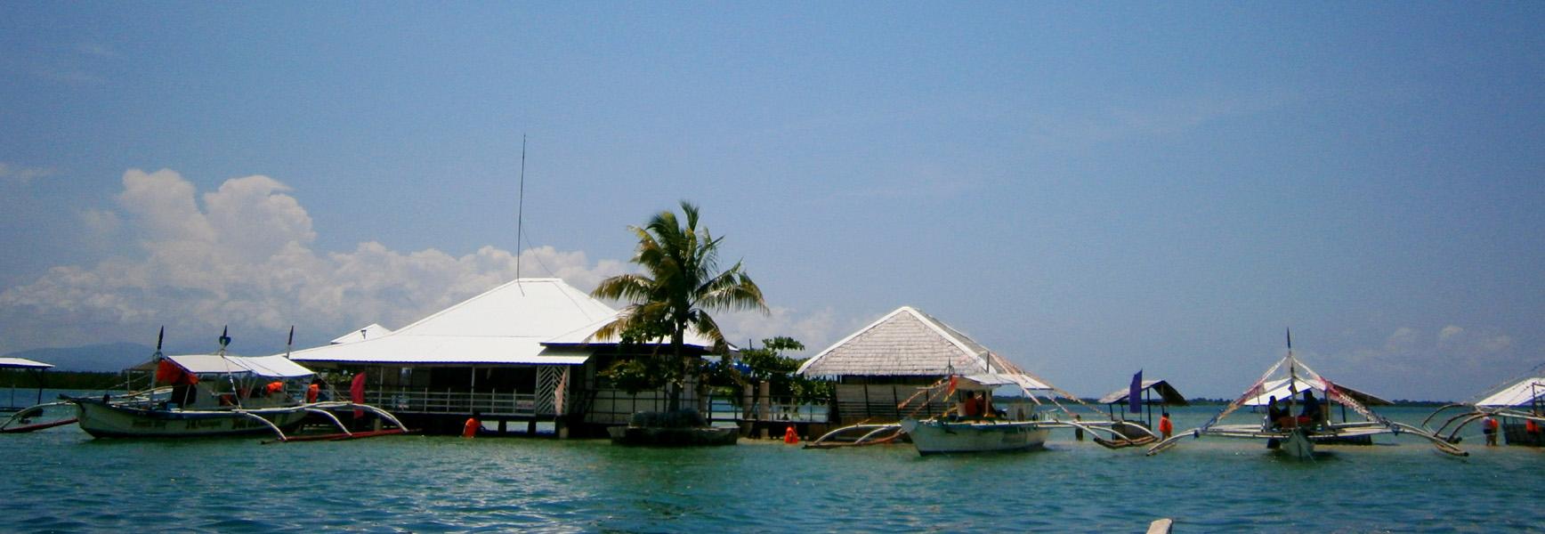 Approaching Luli Island