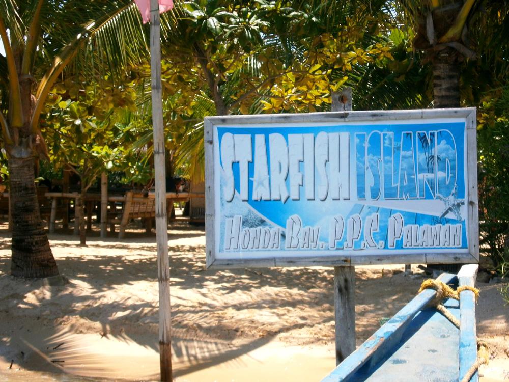 Arrived in Starfish Island