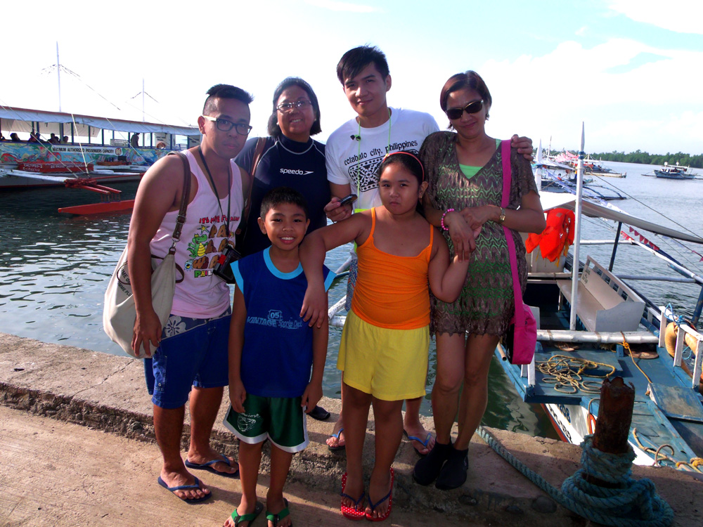 On our way to Honda Bay Island Hopping