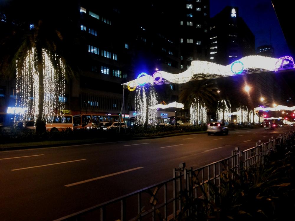 Ayala Avenue's Christmas decoration for 2013