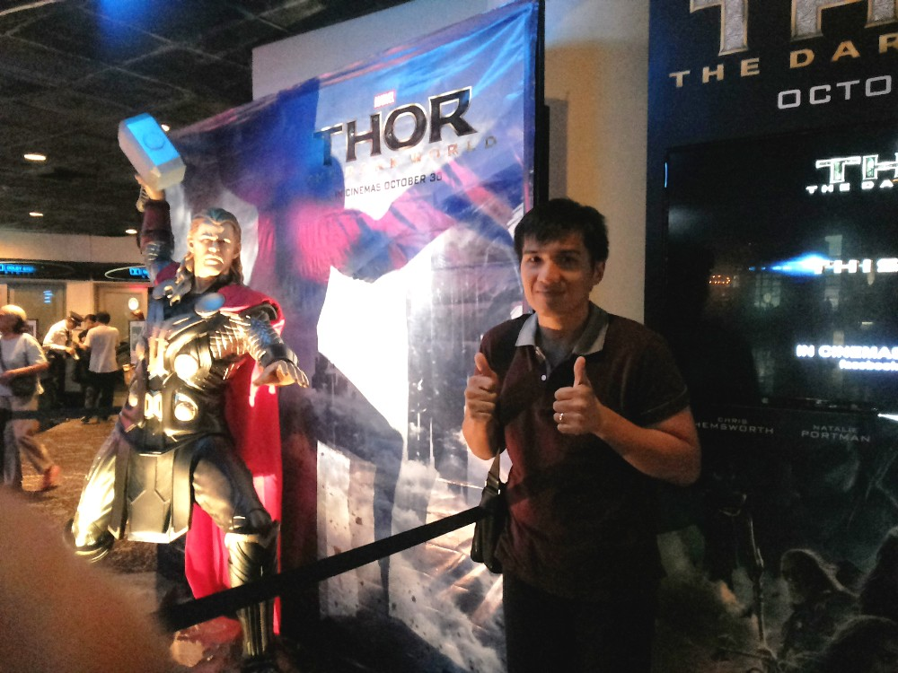 Uncanny Valley Thor in Glorietta