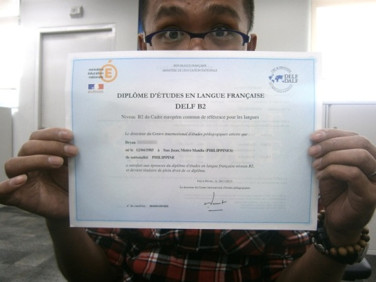 Finally got my DELF diploma!