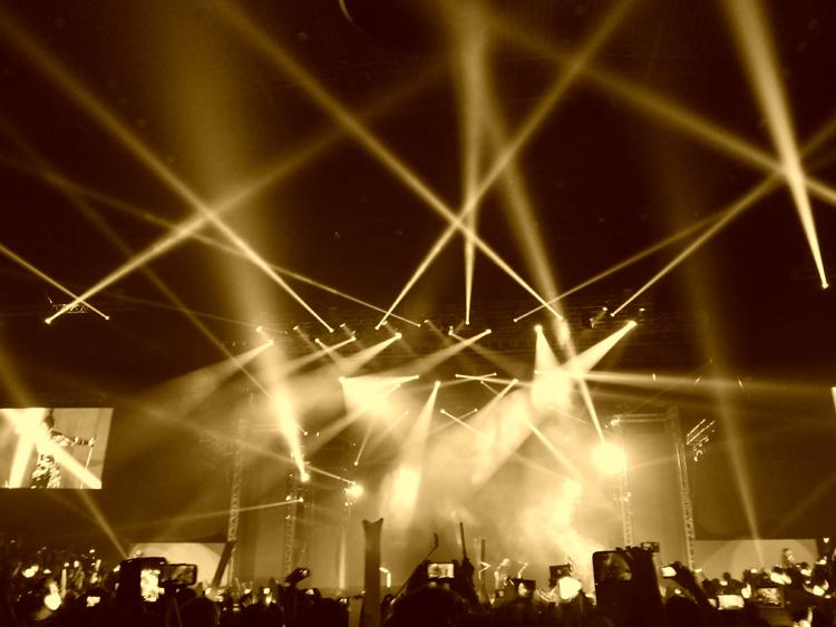 Coolest stage lights