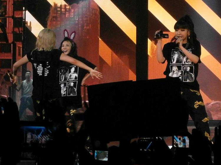 LOL@Dara and CL