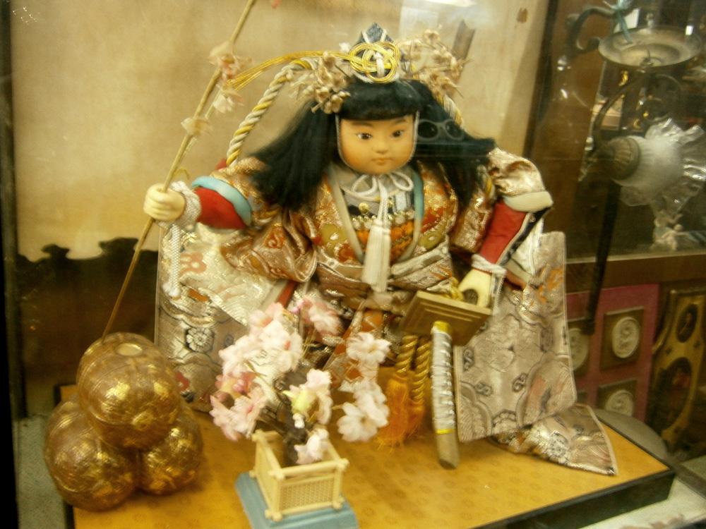 A Japanese Kintaro Doll