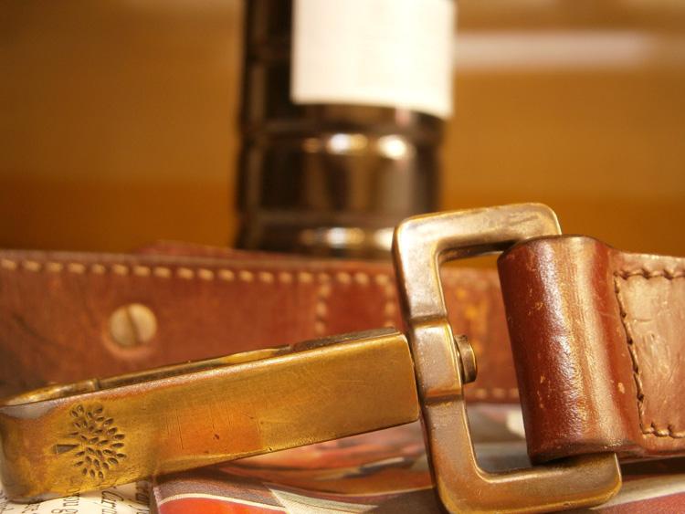 Bye bye brown - Mulberry strap