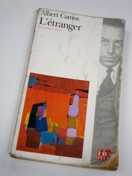 Camus's book L'Etranger