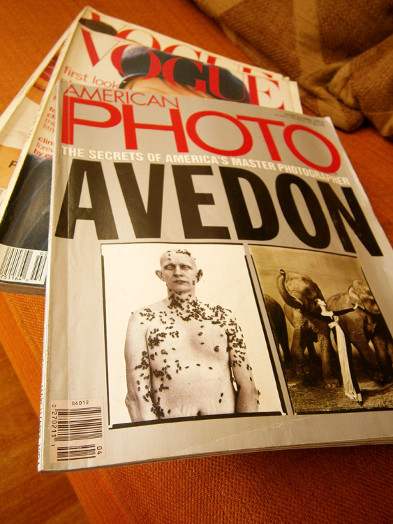 A whole issue dedicated to Richard Avedon - American Photo March-April1994