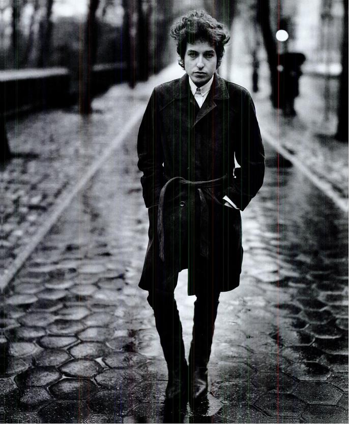 This puts all those Lookbook and Chictopia peeps to shame - Bob Dylan in 1965