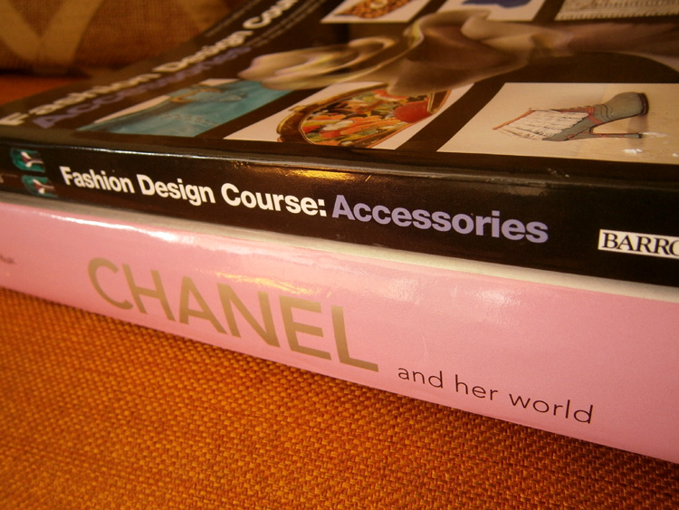 Two books from Book Sale - Chanel and Her WOrld by Edmonde Charles-Roux